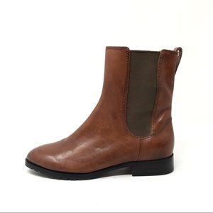 NEW Cole Haan leather chelsea ankle boots 5